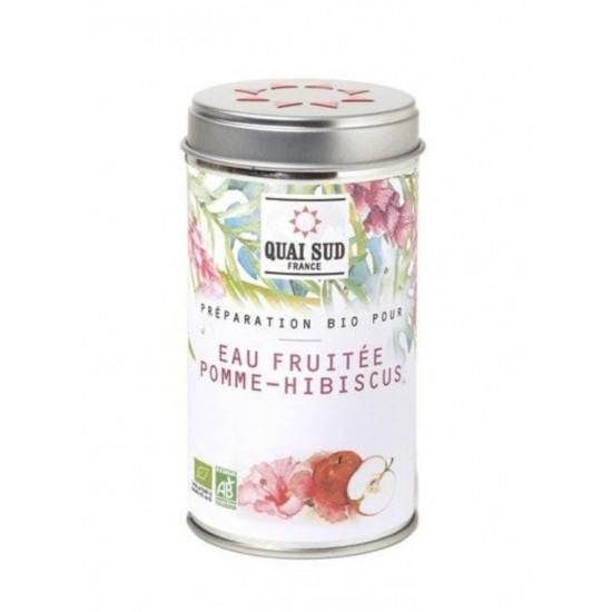 Alma-hibiszkusz organikus frissítő ital