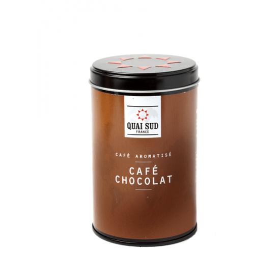 Csokoládé ízesítésű kávé őrlemény