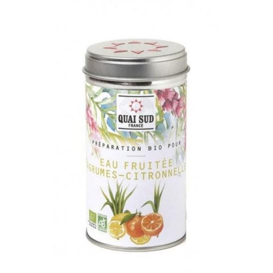 Citrusos organikus frissítő ital