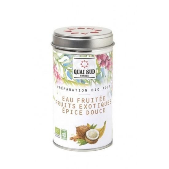 Egzotikus gyümölcsös organikus frissítő ital