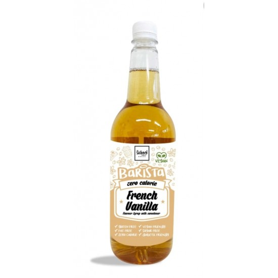 Kalóriamentes francia vanília szirup